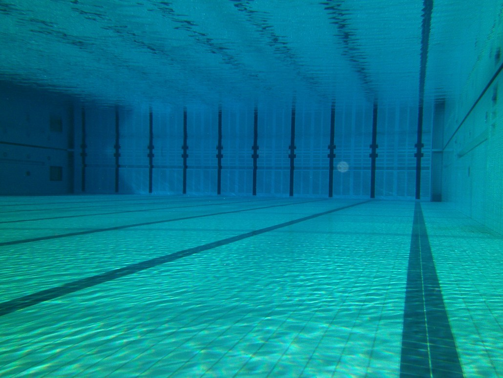 aquatic - Olympic Swimming Pool Underwater