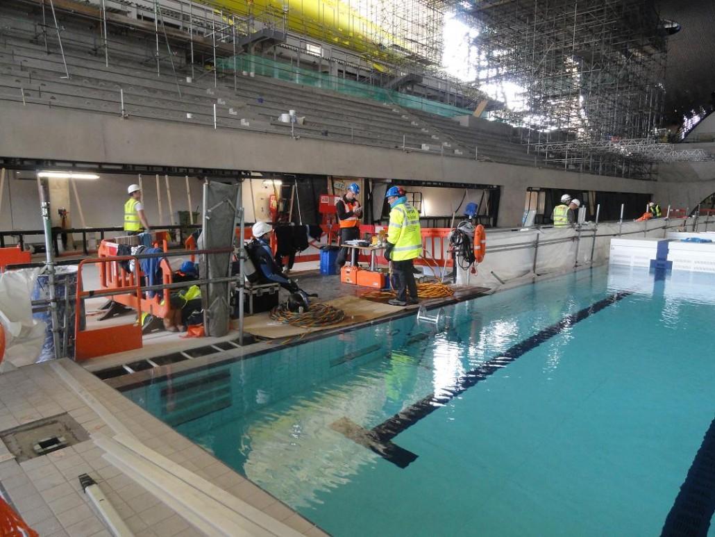 Aquatic centre london duc marine group for Pool london